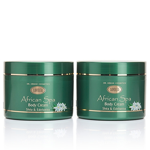 African Spa Body Cream Shéa & Edelweiss Duo