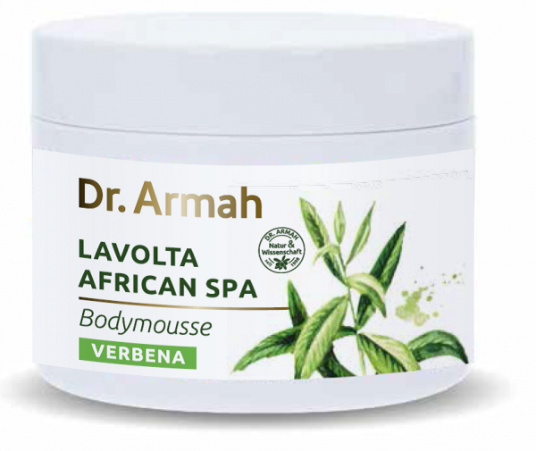 African Spa Body Mousse Verbena