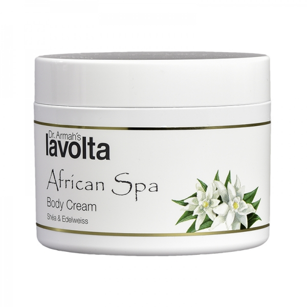 African Spa Body Cream Shéa & Edelweiss