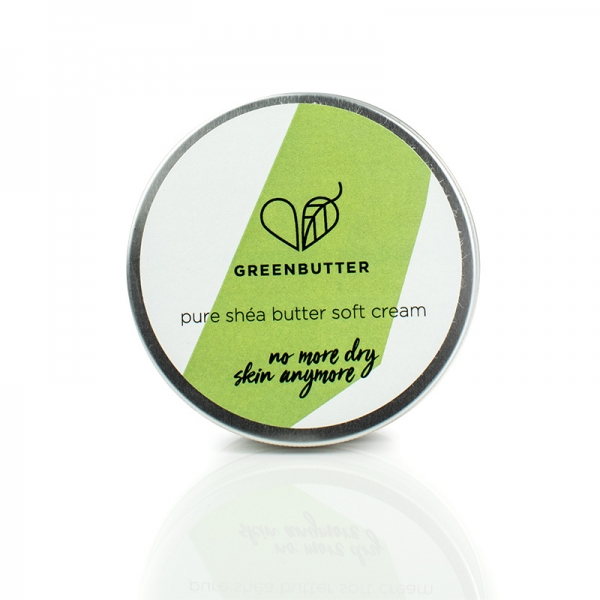 Greenbutter Pure Sheabutter, Soft cream