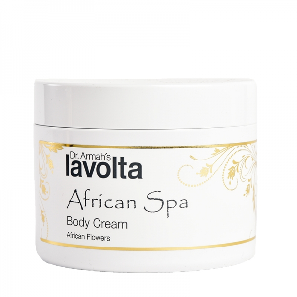 African Spa Body Cream African Flowers