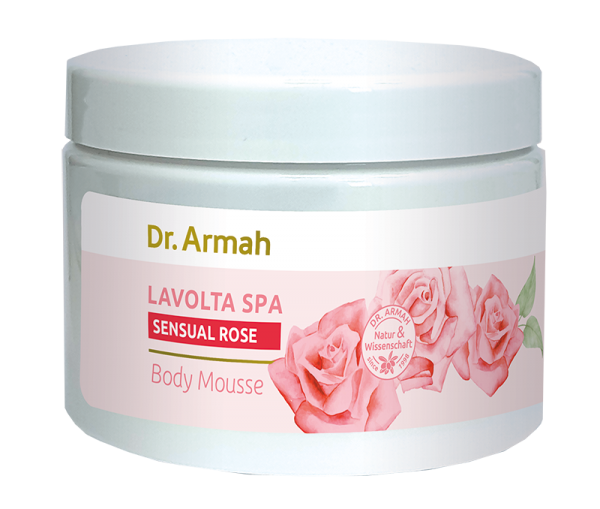 African Spa Body Mousse Sensual Rose 500ml
