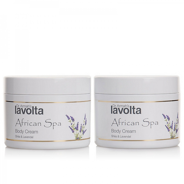 African Spa Body Cream Shéa & Lavendel DUO