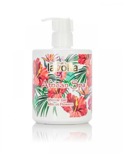 African Spa Shower Gel African Flowers