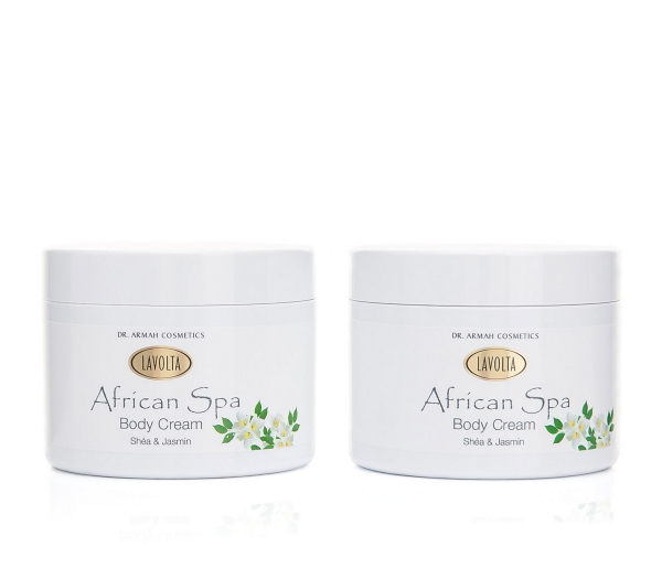 African Spa Body Cream Shéa & Jasmin DUO
